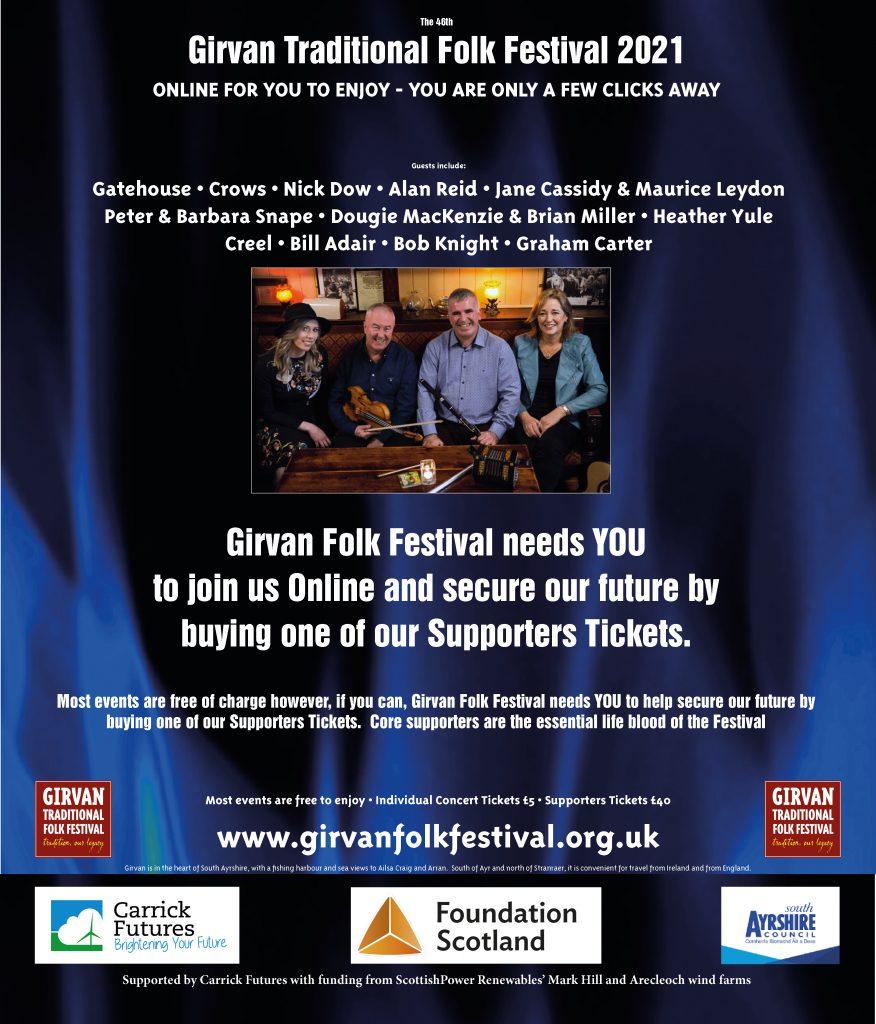Advert for Festival 2021 Online